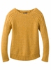 Prana Womens Pia Sweater Curry