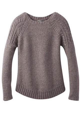 Prana Womens Pia Sweater Muted Truffle