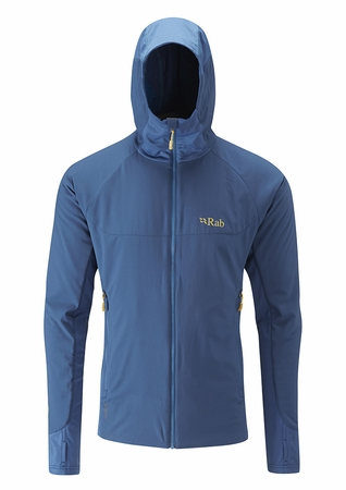 Rab Mens Alpha Flux Jacket Ink/ Merlin