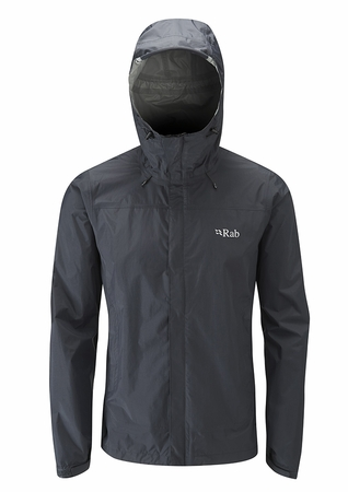 Rab Mens Downpour Jacket Black