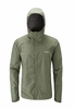 Rab Mens Downpour Jacket Field Green
