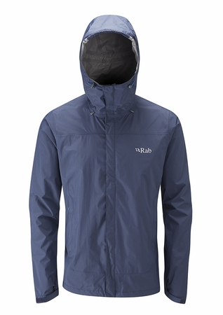 Rab Mens Downpour Jacket Twilight