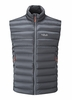 Rab Mens Electron Vest Graphene/ Zinc (close out)