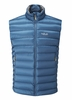 Rab Mens Electron Vest Ink/ Mimosa (close out)