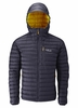 Rab Mens Microlight Alpine Steel/ Dijon