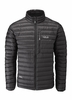 Rab Mens Microlight Jacket Black/ Shark