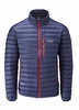 Rab Mens Microlight Jacket Twilight/ Shark (close out)