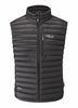 Rab Mens Microlight Vest Black/ Shark