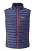 Rab Mens Microlight Vest Twilight/ Shark