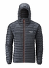 Rab Mens Nimbus Jacket Ebony/ Zinc