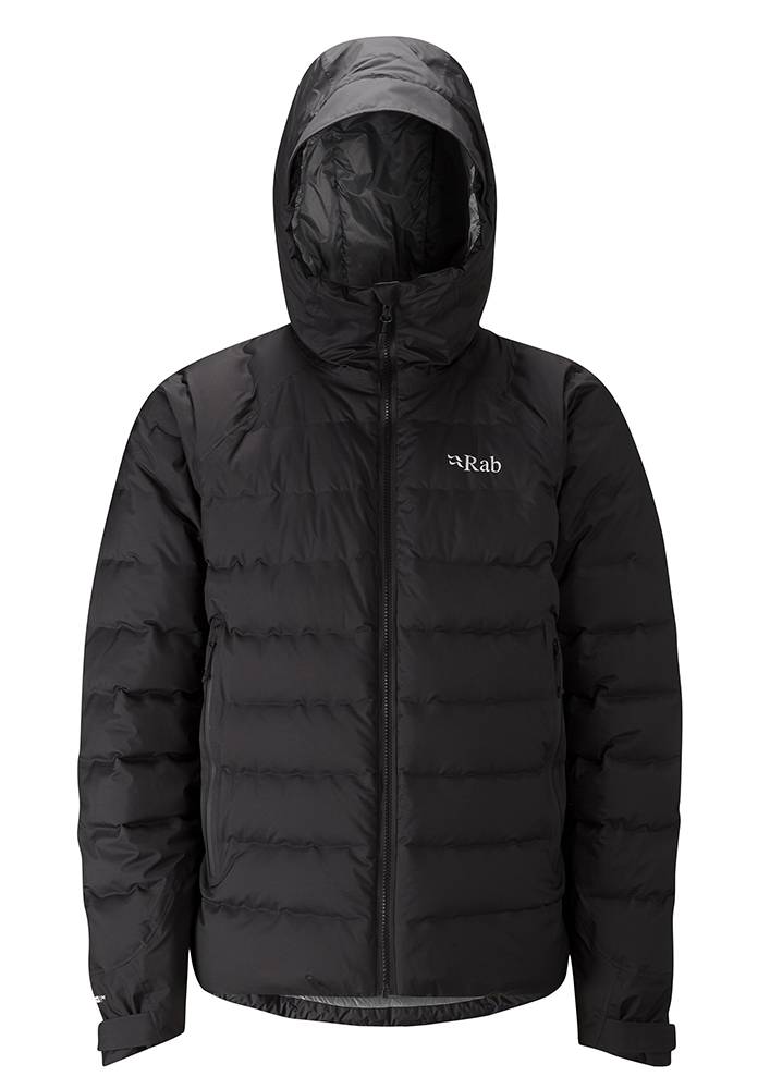 Rab Valiance Jacket Herren blackzinc