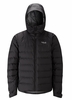 Rab Mens Valiance Jacket Black/ Zinc (Close Out)