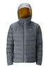 Rab Mens Valiance Jacket Steel/ Dijon  (close out)