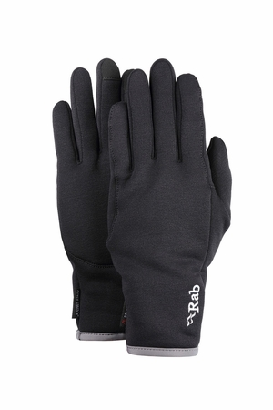 Rab Power Stretch Pro Contact Glove Black