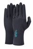Rab Womens Merino+ 160 Glove Ebony