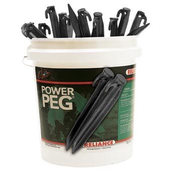 "Reliance Bucket of Pegs 12"" 180PCS"