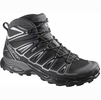 Salomon Mens X Ultra Mid 2 GTX Black/ Black