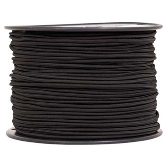"Liberty Mountain Shock Cord 1/8""X500' Black"
