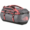 The North Face Base Camp Duffel M Zinc Grey/ Tropical Coral (close out)