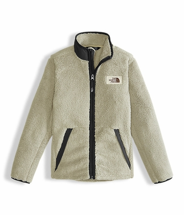 The North Face Boys Campshire Full Zip Granite Buff Tan (close out)