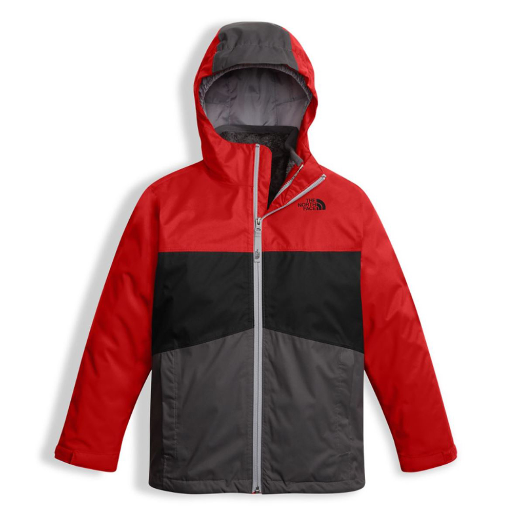 13912d71ca79 The North Face Boys Chimborazo Triclimate Jacket TNF Red (close out)