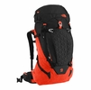 The North Face Cobra 52 TNF Black/ Acrylic Orange Heather