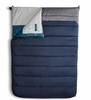 The North Face Dolomite Double 20F Long Right Hand Sleeping Bag Cosmic Blue/ Zinc Grey