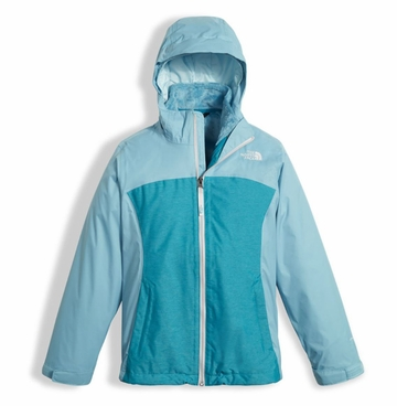 The North Face Girls Osolita Triclimate Jacket Nimbus Blue XS