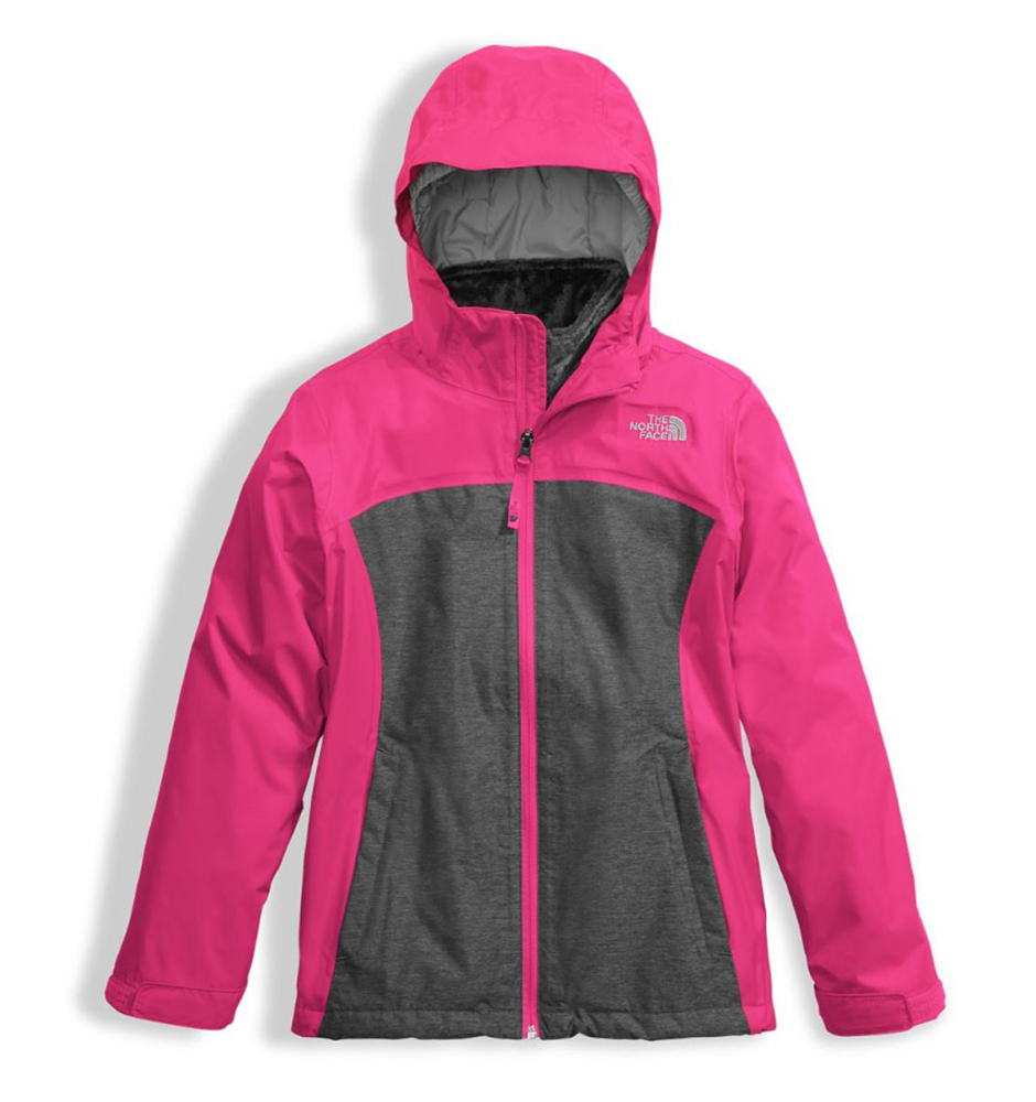 9f3a7c170397 The North Face Girls Osolita Triclimate Jacket Petticoat Pink (close out)