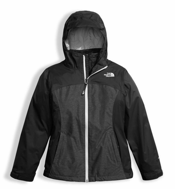 The North Face Girls Osolita Triclimate Jacket TNF Black (close out)