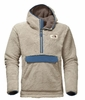 The North Face Mens Campshire Pullover Hoodie Granite Bluff Tan/ Shady Blue