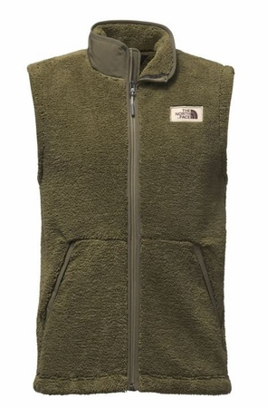 The North Face Mens Campshire Vest Burnt Olive Green