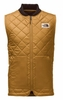The North Face Mens Cuchillo Insulated Vest Golden Brown