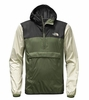 The North Face Mens Fanorak Jacket Four Leaf Clover Multi