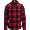 The North Face Mens Hike-In Sherpa Shirt Rage Red Plaid
