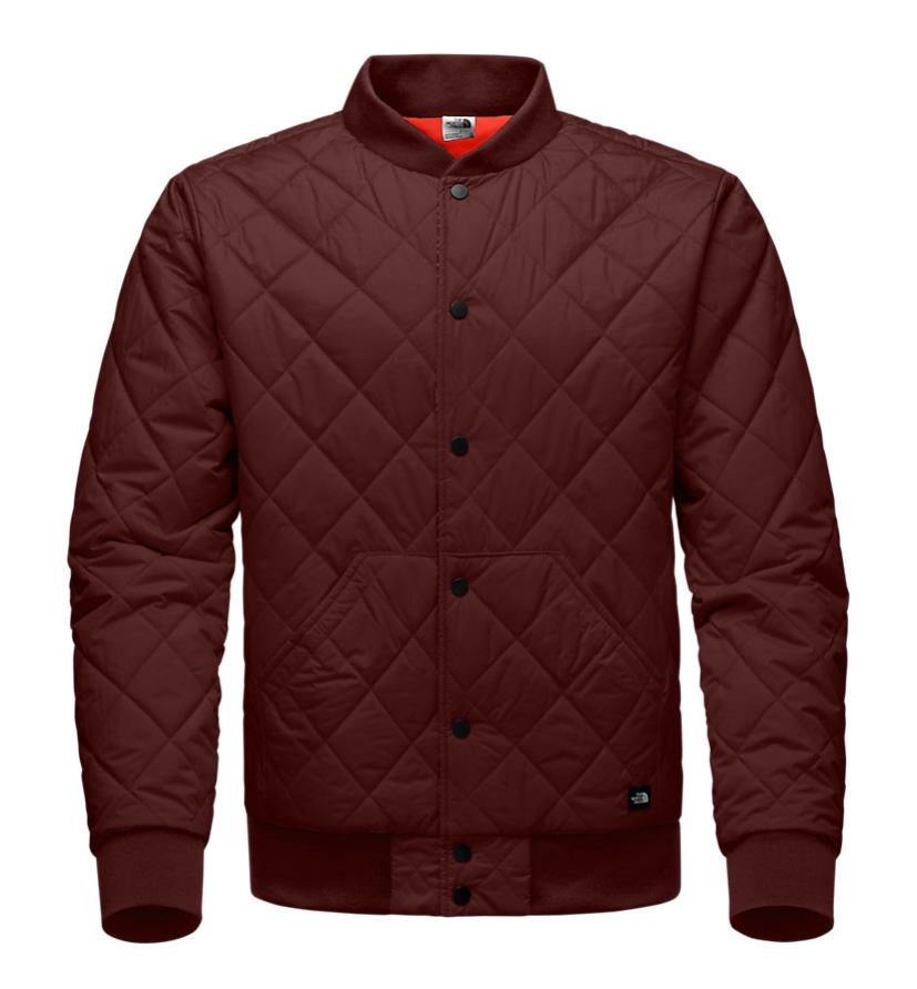 The north face mens jester jacket hot chocolate brown