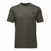 The North Face Mens Reactor Short Sleeve Grape Leaf Heather