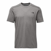 The North Face Mens Reactor Short Sleeve TNF Medium Grey Heather