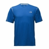 The North Face Mens Reactor Short Sleeve Turkish Sea Heather