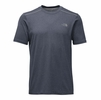 The North Face Mens Reactor Short Sleeve Urban Navy Heather