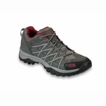 The North Face Mens Storm III Graphite Grey/ Biking Red