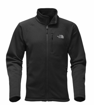 The North Face Mens Timber Full Zip TNF Black