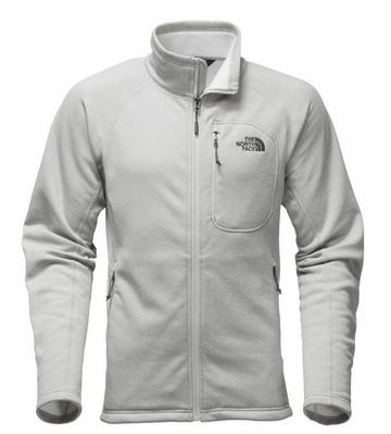 The North Face Mens Timber Full Zip TNF Light Grey Heather