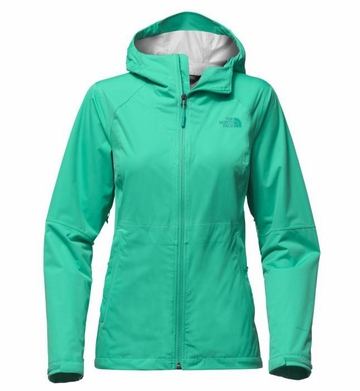 The North Face Womens Allproof Stretch Jacket Pool Green