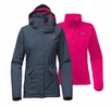 The North Face Womens Boundary Triclimate Jacket Ink Blue