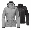The North Face Womens Boundary Triclimate Jacket Mid Grey