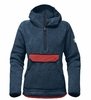 The North Face Womens Campshire Pullover Hoodie Blue Wing Teal