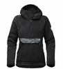 The North Face Womens Campshire Pullover Hoodie TNF Black Novelty (Close Out)