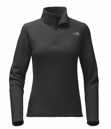 The North Face Womens Glacier 1/4 Zip TNF Black