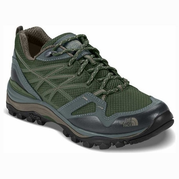 The North Face Womens Hedgehog Fastpack Shoe Deep Lichen Green/ Moon Mist Grey (close out)